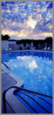 Clouds  Over  A  Pool, S  Hampton, NY by Jordan Strauss